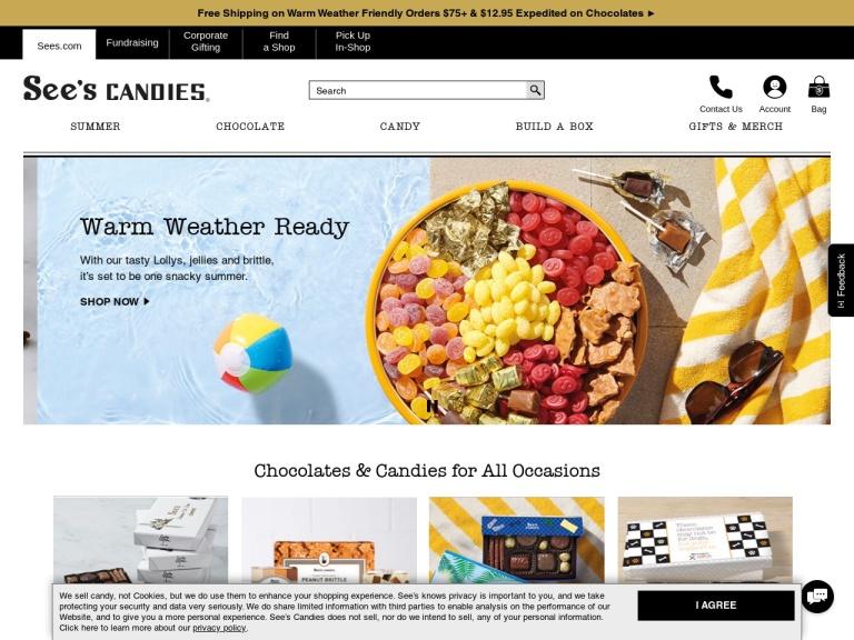 See's Candies, Inc. screenshot