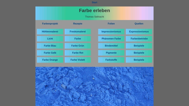 www.seilnacht.com Vorschau, Lexikon der Farbstoffe und Pigmente
