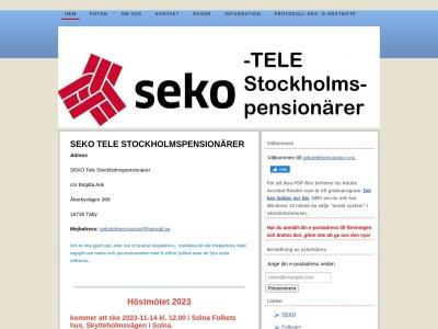 www.sekotelepensionar.n.nu