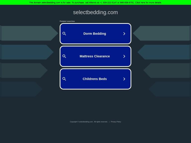 Select Bedding screenshot