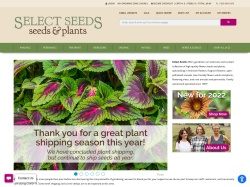 Select Seeds Promo Codes 2018