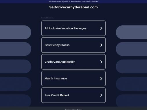 Best Cheap Self Drive Car Rentals Hyderabad
