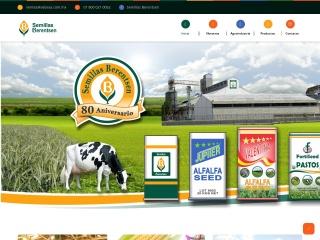 Captura de pantalla para semillasberentsen.com.mx