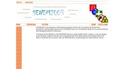 www.senem.de Vorschau, SENEM2001 Arbeitsschutzsoftware