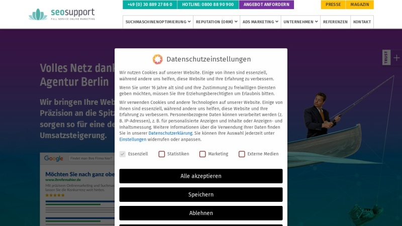 www.seosupport.de Vorschau, Seosupport GmbH