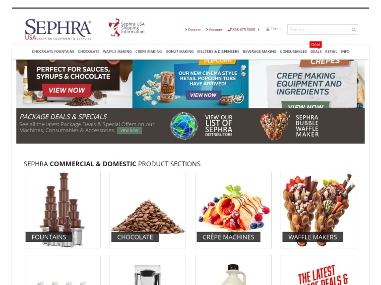 Sephra-Sephra- Save 21% + Free Shipping on Sephra 4lb Dark Chocolate Melts.