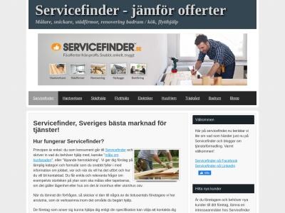 www.servicefinder.nu