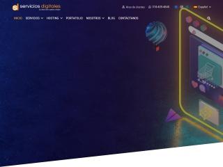 Captura de pantalla para serviciosdigitales.com.co