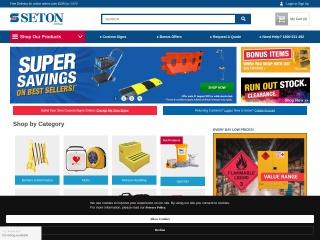 Screenshot for seton.net.au