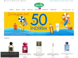 sevil.com.tr için Ekran Görüntüsü