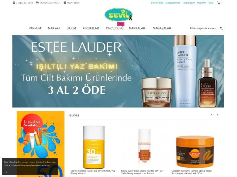 Sevil Parfümeri screenshot