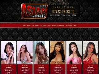 Screenshot for sexyasianescorts.co.uk