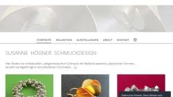 www.sh-schmuckdesign.de Vorschau, Schmuckdesign Susanne Högner