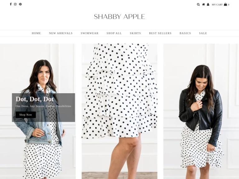 Shabby Apple screenshot