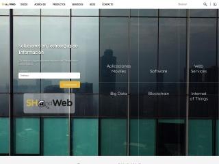 Captura de pantalla para shandweb.com.mx