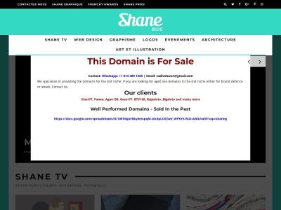 Création de plaquette commerciale - Shane Graphique