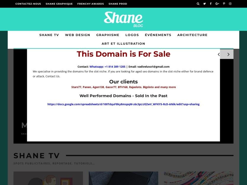 http://www.shanegraphique.com