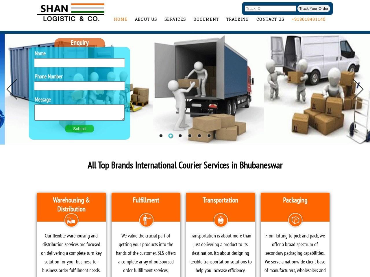 Top Brand International Courier Service in Bhubaneswar