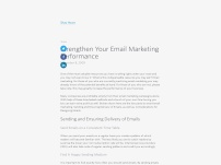 Smart Email Marketing – How to Design and Send Emails