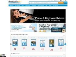 Sheet Music Plus: Over 1,000,000 Print & Digital Sheet