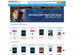 Sheet Music Plus Coupons & Offers