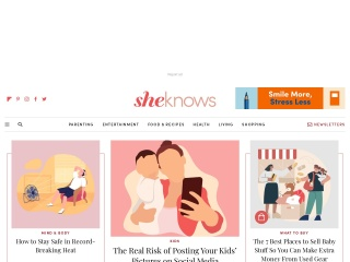 Screenshot for sheknows.com