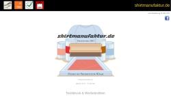 www.shirtmanufaktur.de Vorschau, Shirtmanufaktur