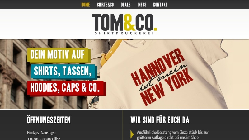 www.shirtway.de Vorschau, Der Shirt Shop Shirtway.de, ihr T-Shirt Druck Experte