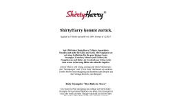 www.shirtyharry.de Vorschau, ShirtyHarry, Werner Radisch