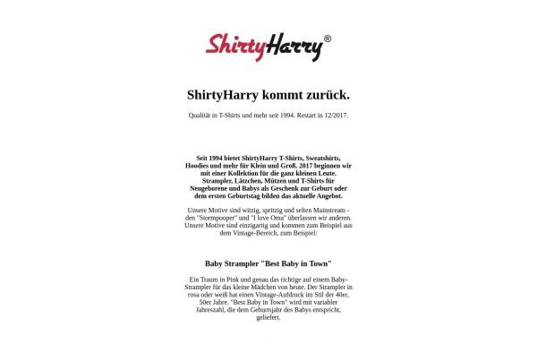 Vorschau von www.shirtyharry.de, ShirtyHarry, Werner Radisch