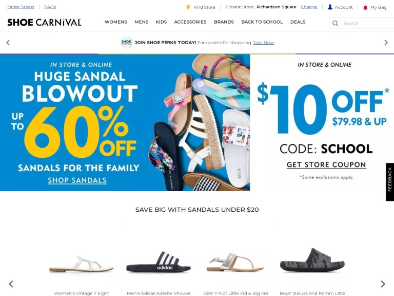 Shoe Carnival screenshot