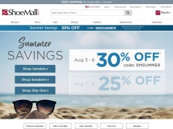 shoemall.com screenshot