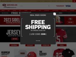 San Francisco 49ers Store screenshot