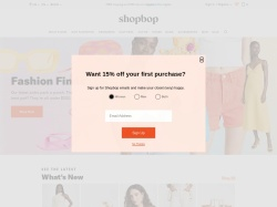 http://www.shopbop.com coupon and discount codes