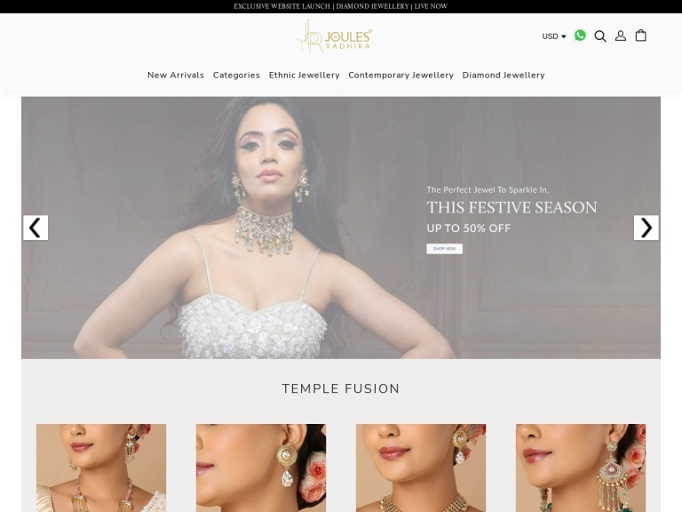 JEWELS BY RADHIKA Coupon Codes & Promo codes