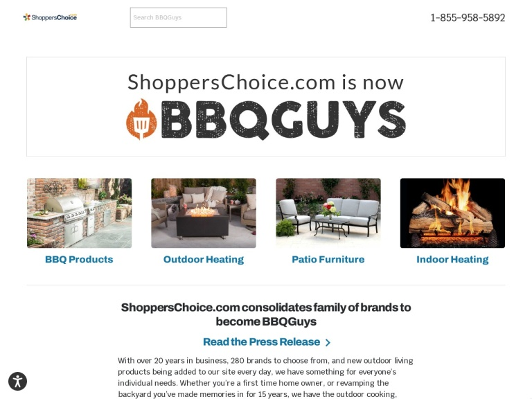 Shopperschoice.com screenshot