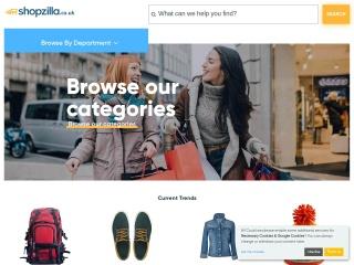 Screenshot for shopzilla.co.uk