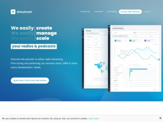 Screenshot for shoutcast.com