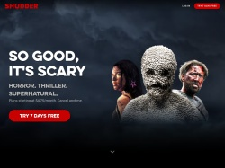 Shudder coupon codes April 2018
