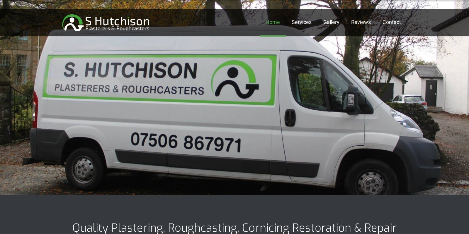 Preview of http://www.shutchisonplasterers.co.uk/