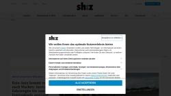 www.shz.de Vorschau, Schleswig-Holsteinischer Zeitungsverlag GmbH