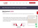 AutoCAD Courses, class Mechanical CAD Online Enquire now 9919990666