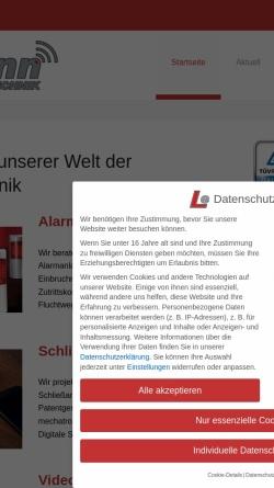 Vorschau der mobilen Webseite www.sicherheitstechnik-lehmann.de, Sicherheitstechnik und Schlüsseldienst Lehmann