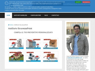 screenshot sicurezzapoint.com