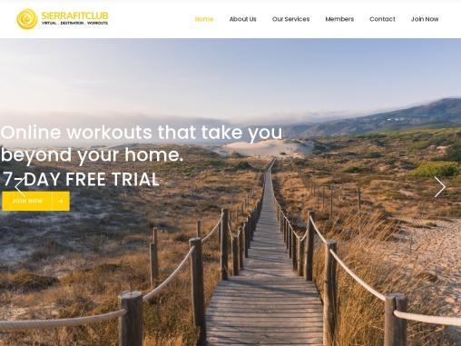 Online Fitness Classes   Sierra Fit Club