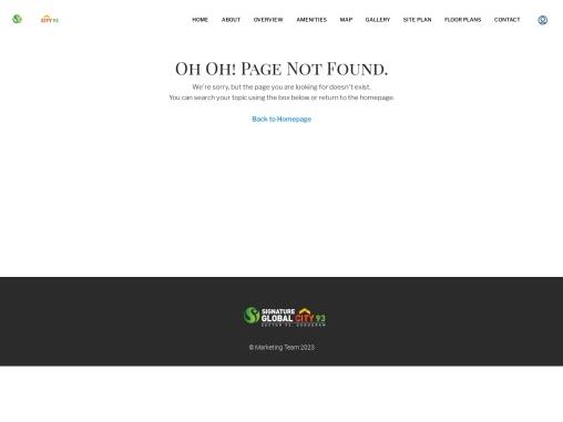 Signature Global Park 2 & 3, Sector 36,Sohna,Gurgaon