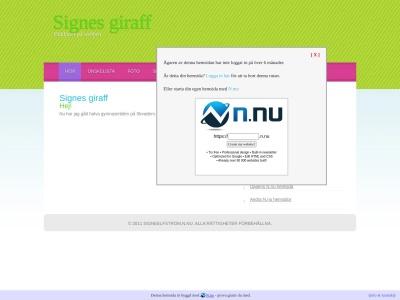 www.signeelfstrom.n.nu