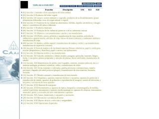 Captura de pantalla para siicex-caaarem.org.mx