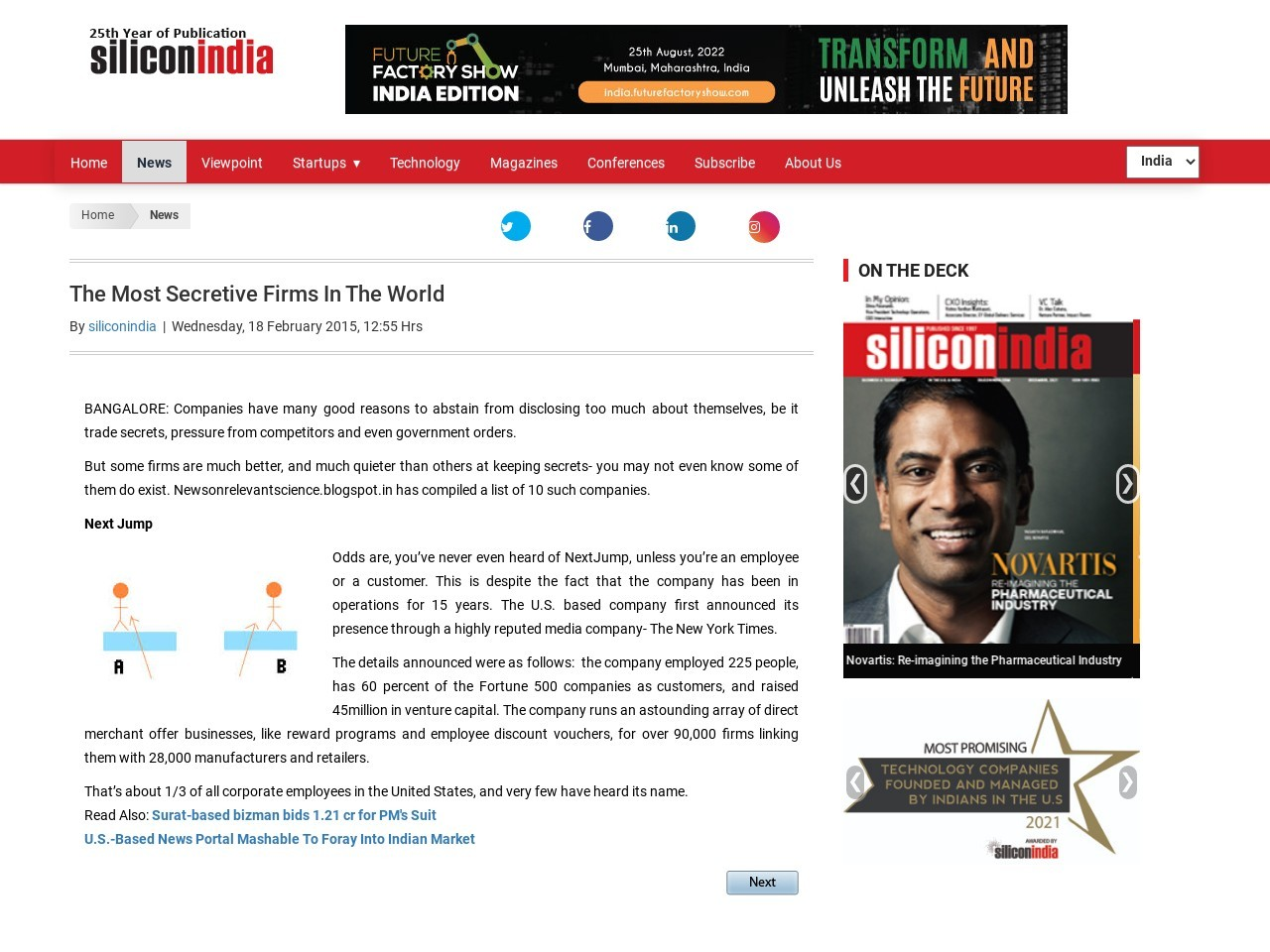 The Most Secretive Firms In The World