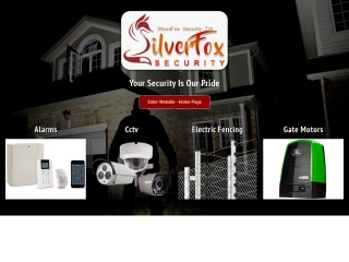 Screenshot for silverfoxsecurity.co.za